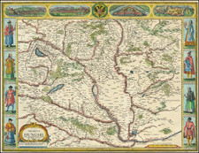Hungary Map By John Speed