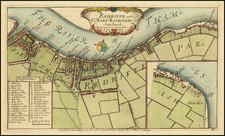 London Map By John Strype