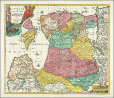 Baltic Countries Map By Tobias Conrad Lotter