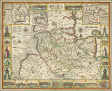Germany Map By Claes Janszoon Visscher