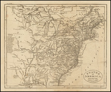 United States Map By John Russell