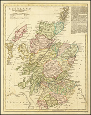 Scotland Map By Robert Wilkinson