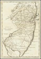 New Jersey Map By John Payne