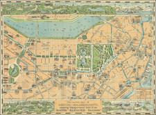 Pictorial Maps and Boston Map By Richard F. Lufkin