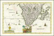 South Africa Map By Heinrich Scherer