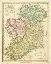 Ireland Map By Robert Wilkinson