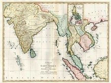 Asia, China, India, Southeast Asia and Philippines Map By John Blair