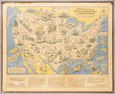 United States and Pictorial Maps Map By Edward Gerstell McCandlish