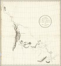 Western Canada Map By Alexander MacKenzie