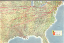 United States and Pictorial Maps Map By American Airlines