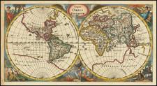 World Map By Philipp Clüver