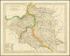 Poland and Balkans Map By Robert Wilkinson