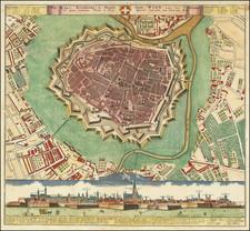 Austria Map By Homann Heirs