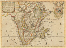 Africa Map By Richard Blome