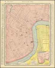 Louisiana Map By Rand McNally & Company