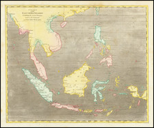 Southeast Asia Map By Aaron Arrowsmith  &  Samuel Lewis