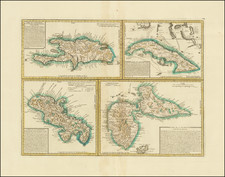 Cuba, Hispaniola and Other Islands Map By Anonymous