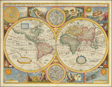 A New and Accurat Map of the World Drawne according to ye truest Descriptions lastest Discoveries & best observations yt have beene made by English or Strangers. 1651. By John Speed