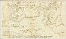Southeast, South Carolina and American Revolution Map By Thomas Abernethie