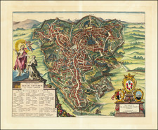 Other Italian Cities Map By Pieter Mortier