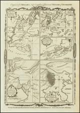 New York City, New Jersey, Pennsylvania, South Carolina, Cuba and Boston Map By Thomas Conder