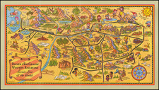 Colorado, Colorado and Pictorial Maps Map By Charles A. Dietemann