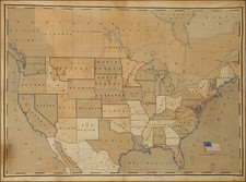 United States Map By Garabed Haroutunian