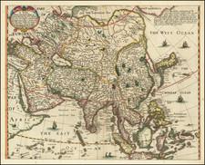 Asia Map By Robert Walton