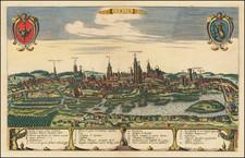 Poland Map By Johannes Covens  &  Cornelis Mortier