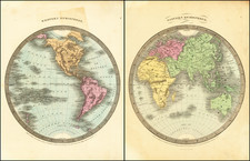 Western Hemisphere (and) Eastern Hemisphere By David Hugh Burr