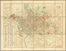 Rome Map By Georges Erhard
