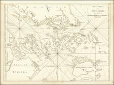 Singapore Map By Thomas Jefferys