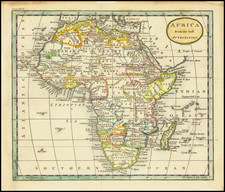 Africa Map By John Russell
