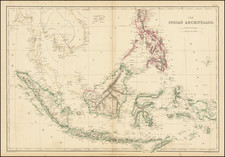 Philippines and Indonesia Map By Edward Weller