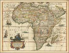 Africa Map By Robert Walton