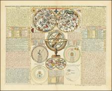 Celestial Maps Map By Henri Chatelain