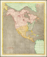 North America Map By Aaron Arrowsmith  &  Lewis