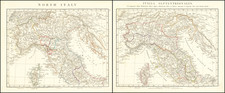 Northern Italy and Corsica Map By John Arrowsmith