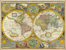 World Map By John Speed