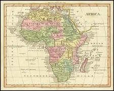 Africa Map By William Darton