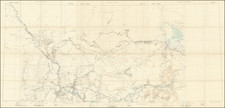 West Africa Map By W. & A.K. Johnston / Ordnance Survey / War Office