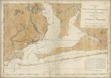 Florida and American Revolution Map By Joseph Frederick Wallet Des Barres / George  Gauld