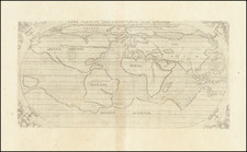 World Map By Augustino Torniello