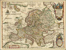 Europe Map By Robert Walton