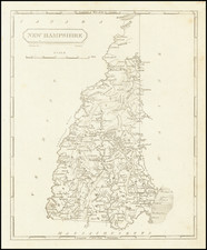 New Hampshire Map By Aaron Arrowsmith  &  Samuel Lewis