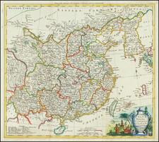 China Map By Thomas Kitchin