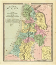 Palestine or the Holy Land or the Land of Canaan By David Hugh Burr
