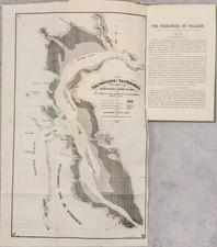 California, San Francisco & Bay Area and Rare Books Map By John Shertzer Hittel