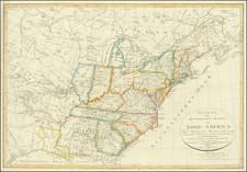 Charte von Den Vereinigten Staaten von Nord-America nebst Louisiana…1805 und Florida . . .1805 und nach den Enteckungen der Hrn. Lewis, Clarke und Pike . . . Septbr 1812, unde nach der neuesten Staateneintheinlung begranzt im J. 1817 . . .  By Franz Ludwig Gussefeld