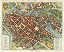 Poland Map By Matthaus Merian